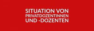 Anfrage 'Situation von Privatdozentinnen und -dozenten an Berliner Hochschulen' (PDF)