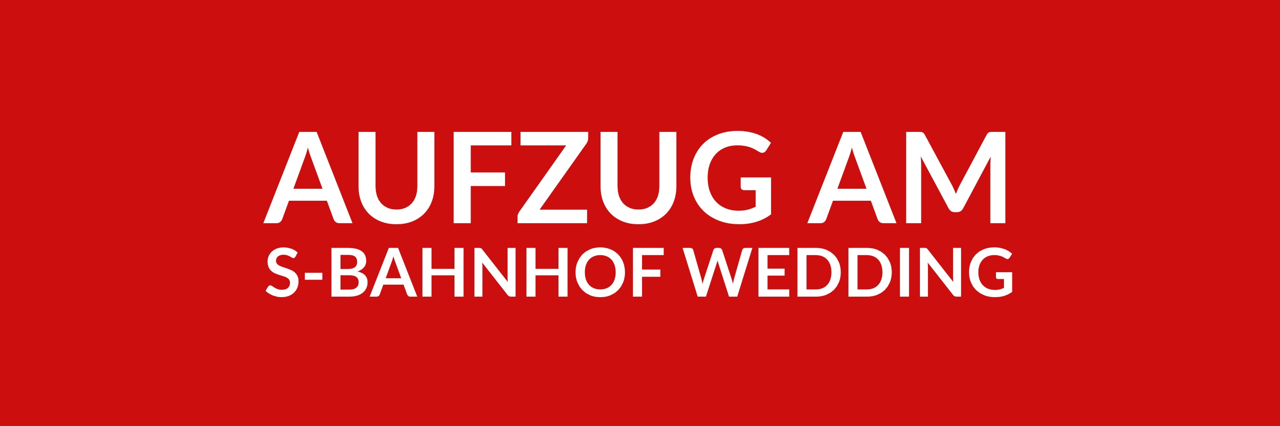 Anfrage 'Aufzug am S-Bahnhof Wedding' (PDF)