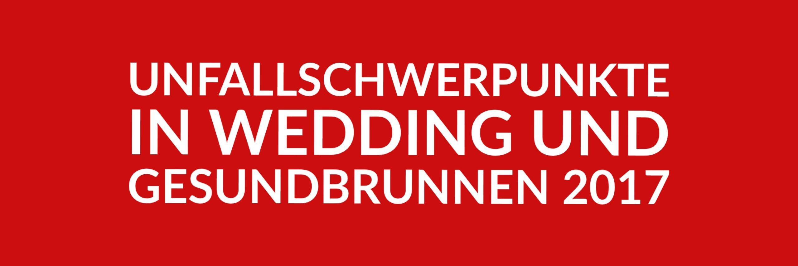 Anfrage 'Unfallschwerpunkte in Wedding und Gesundbrunnen 2017' (PDF)