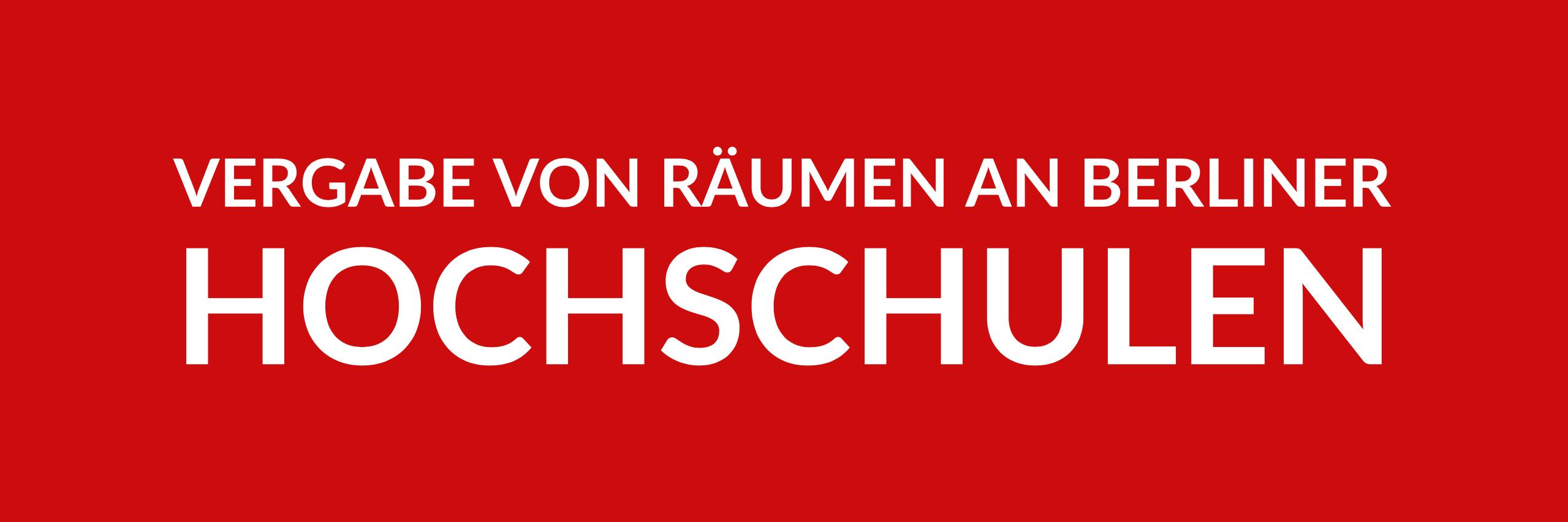 Anfrage 'Vergabe von Räumen an Berliner Hochschulen' (PDF)