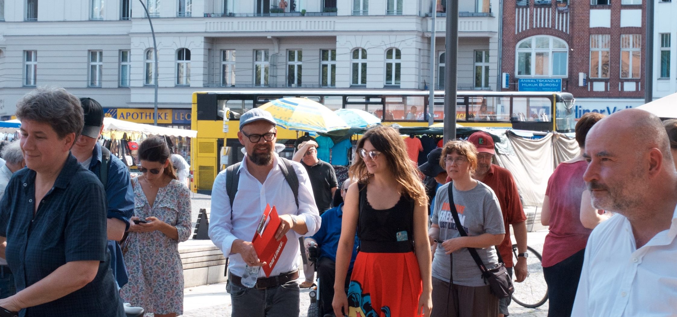 Spaziergang am Leopoldplatz
