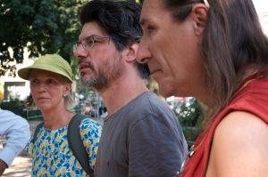 Frau Jahnke, Herr Kociolek und Herr Bertermann