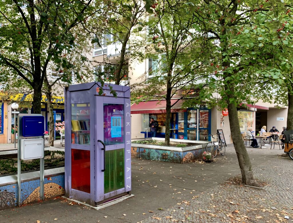 Bücherbox am Ackerplatz