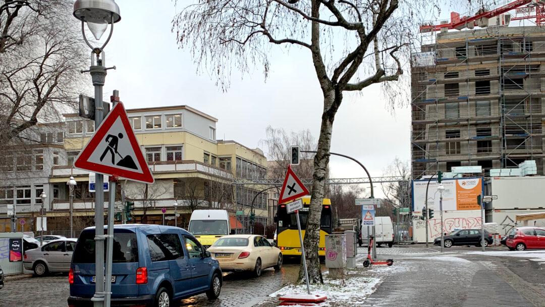 Kreuzung an der Lynarstraße